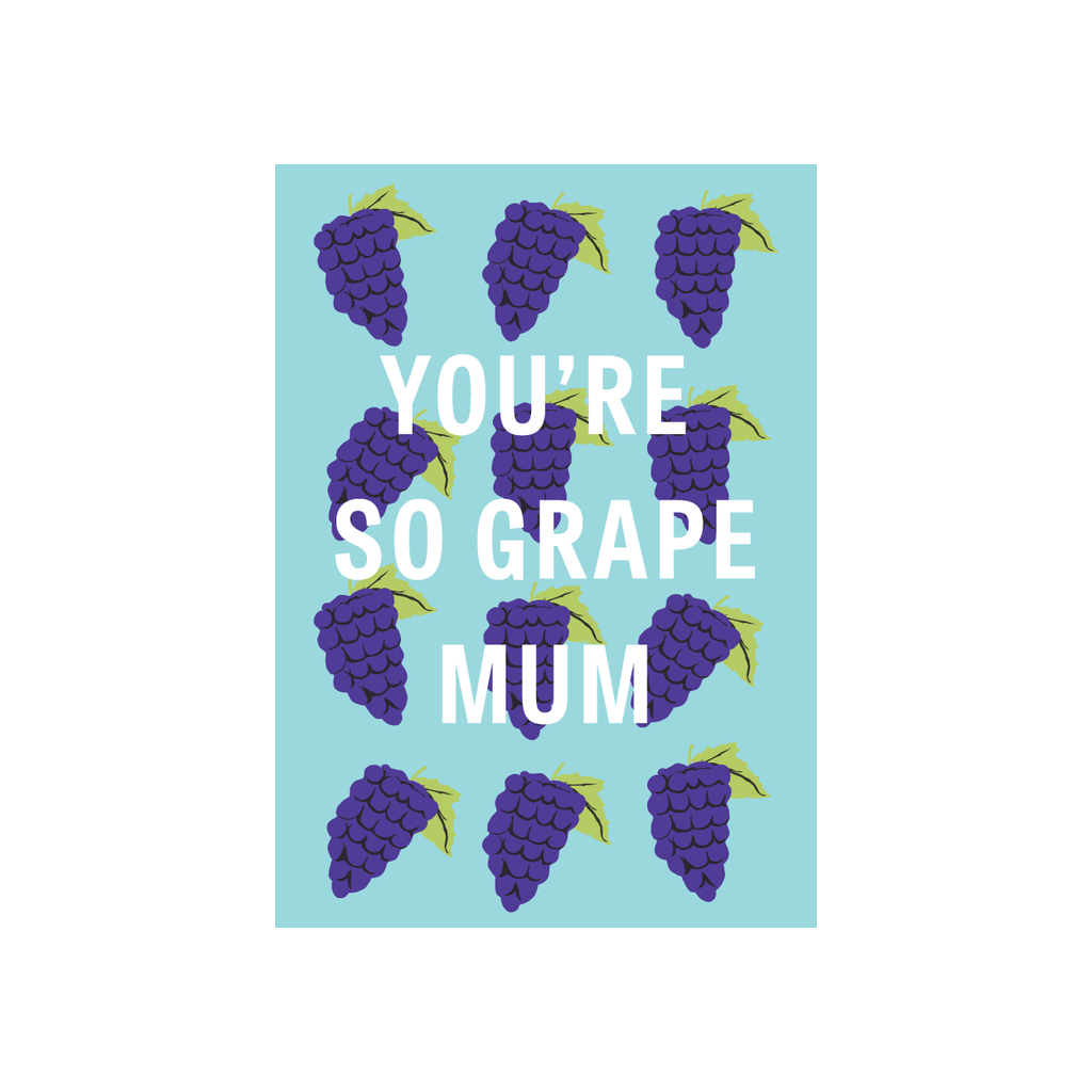 Iko Iko Fruit Mum Card Grape