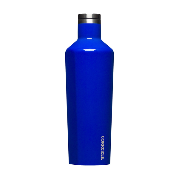 Corkcicle Canteen Drink Bottle 25oz 750ml Cobalt Blue