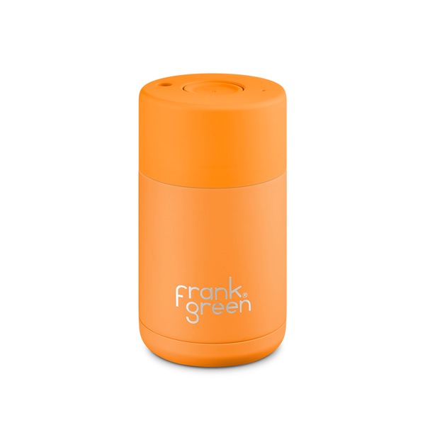 Frank Green Stainless Steel Smart Cup 10oz Turmeric