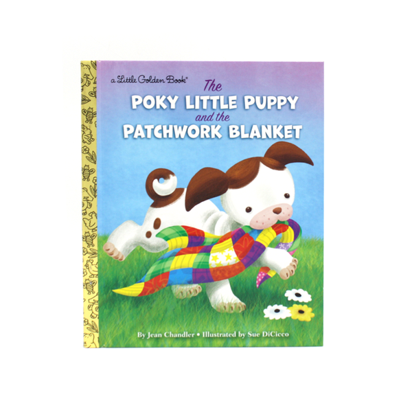 Little Golden Book Pokey Puppy and the Patchwork Blanket