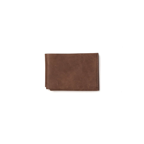 Citta JFD Leather Slimline Wallet Coffee