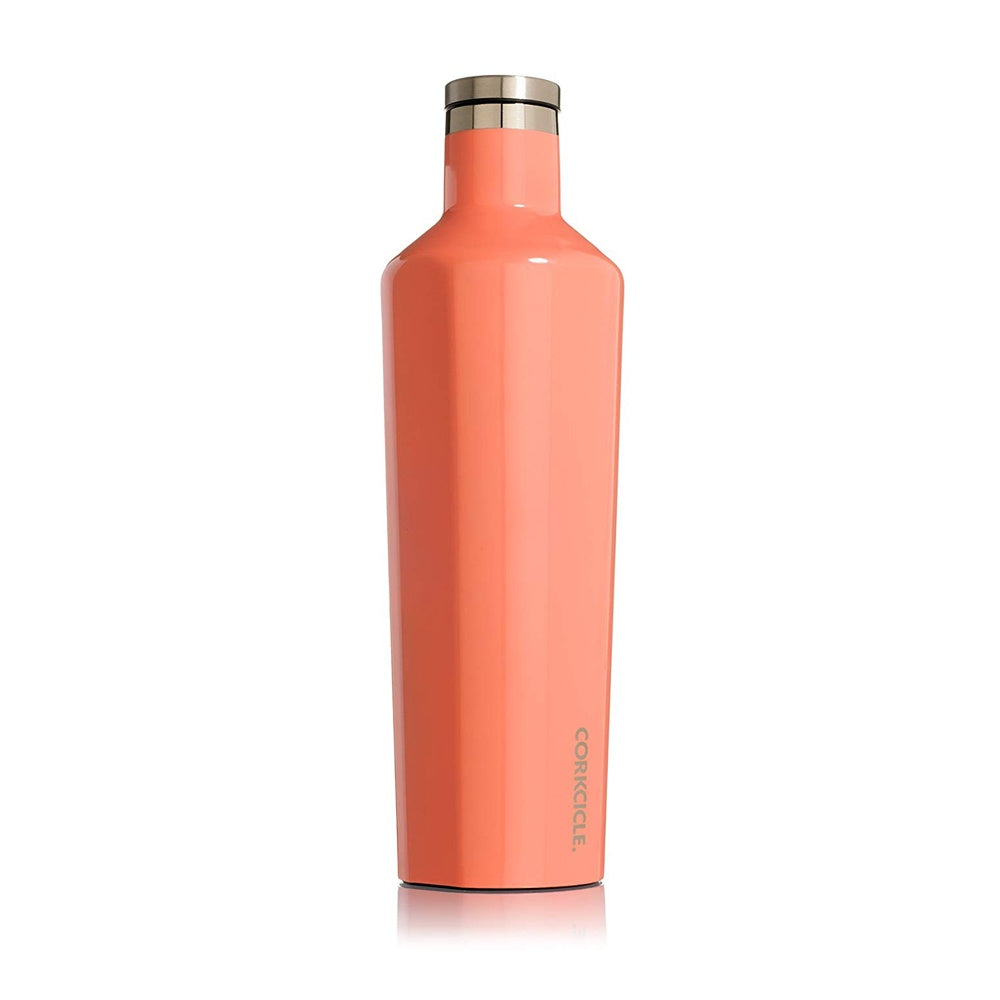 Corkcicle Canteen Drink Bottle 25oz Peach Echo