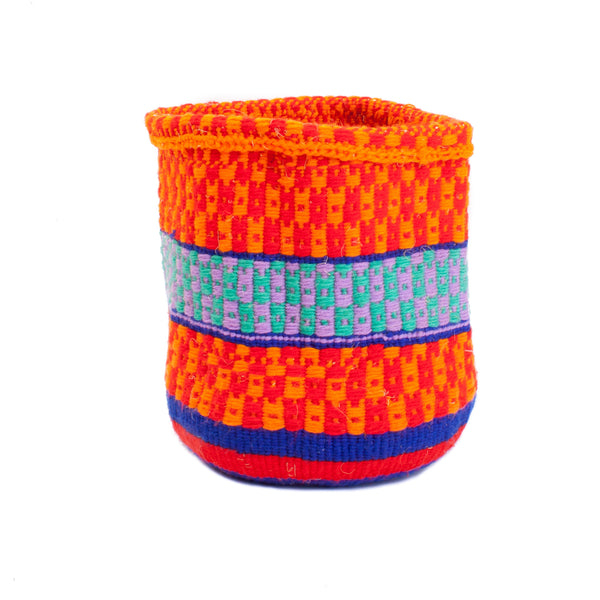 Maka Emali Hand Woven Basket Medium Design A01