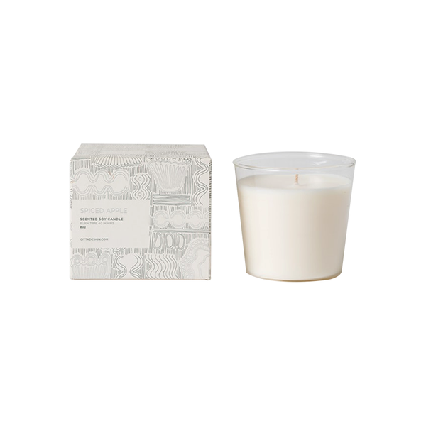 Citta Scented Soy Candle Spiced Apple