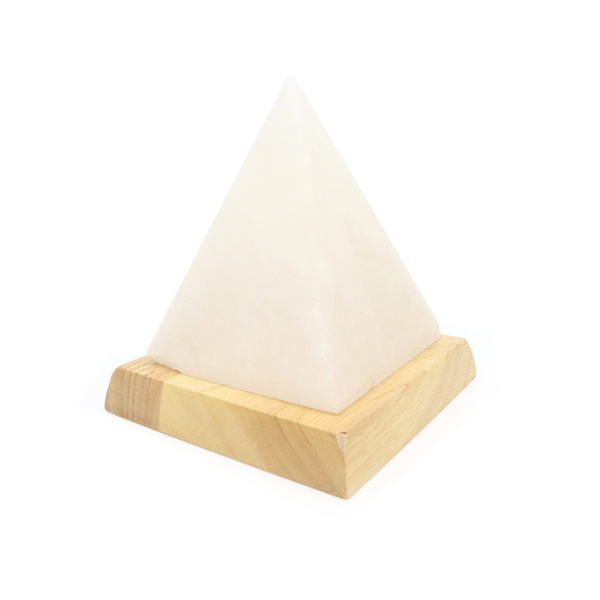 Salt Stone USB Lamp Pyramid Large