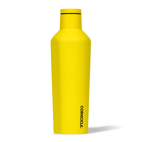 Corkcicle Canteen Drink Bottle 16oz Neon Yellow