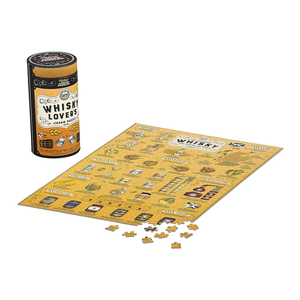 Ridleys 500 Piece Jigsaw Puzzle Whisky Lovers