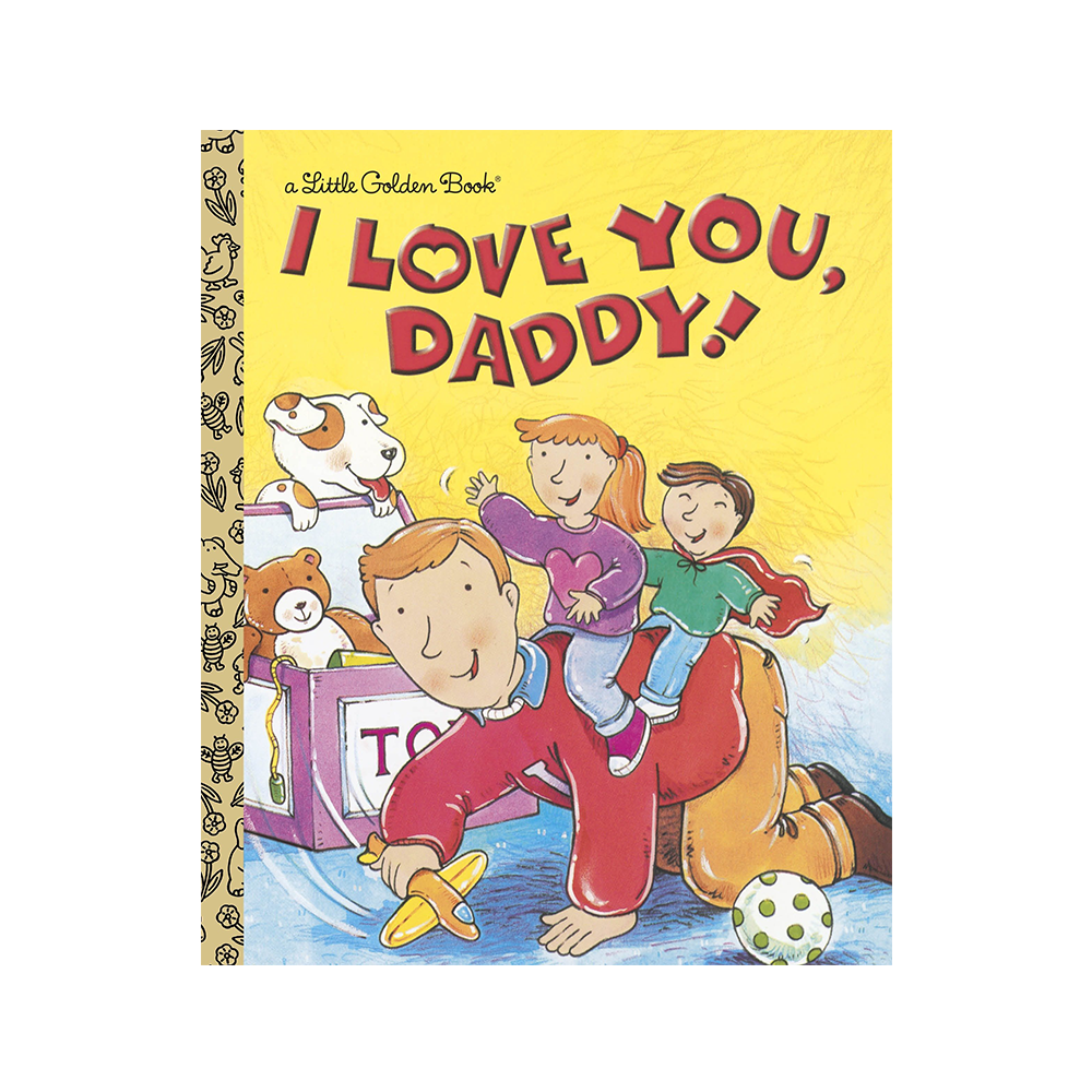 Little Golden Book I Love you Daddy