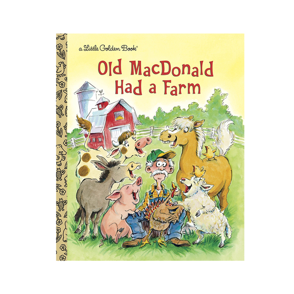 Little Golden Book Old MacDonald Had a Farm