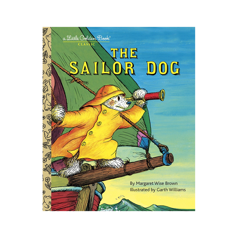 Little Golden Book Sailor Dog