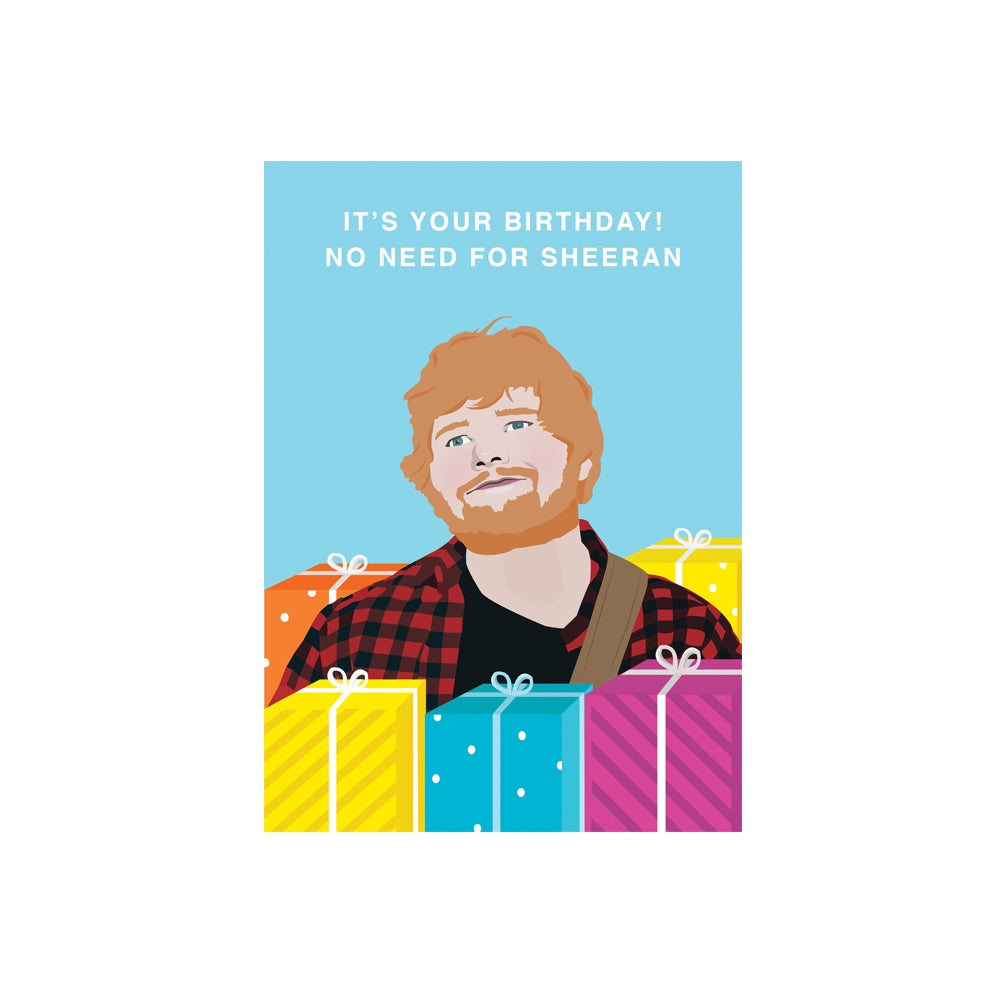 Iko Iko Pop Culture Card Sheeran Birthday