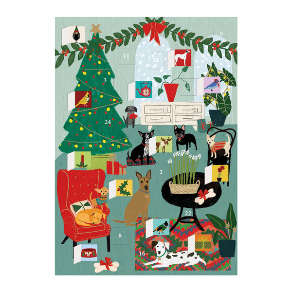 Roger La Borde Fireside Dogs Advent Calendar