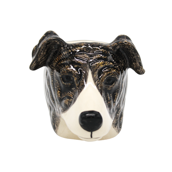 Quail English Greyhound Dog Face Egg Cup