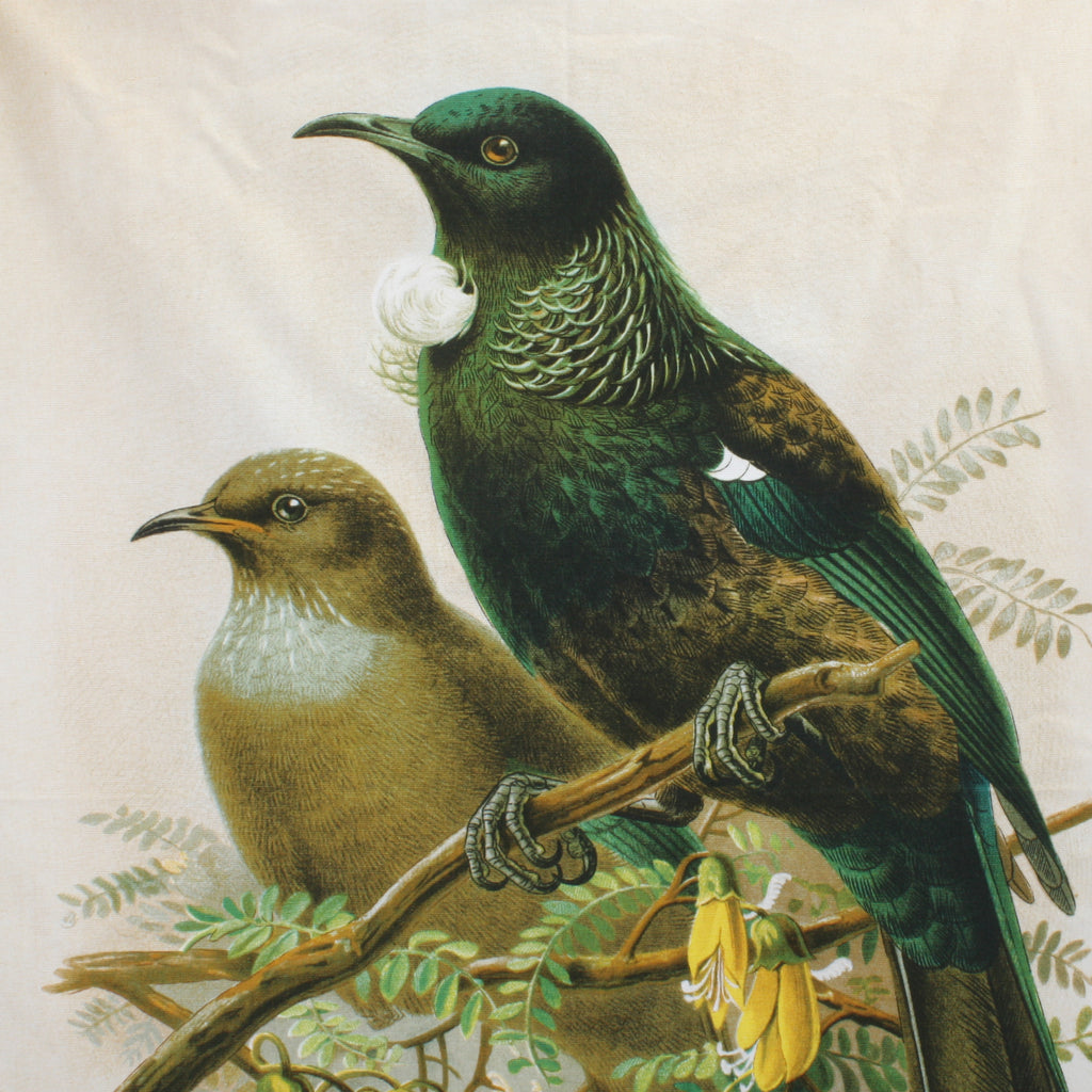 New Zealand Retro Tea Towel Tui