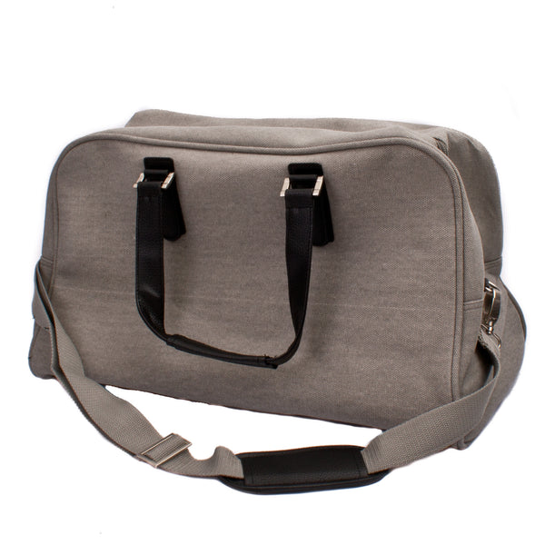 Citta Canvas Travel Bag Light Grey