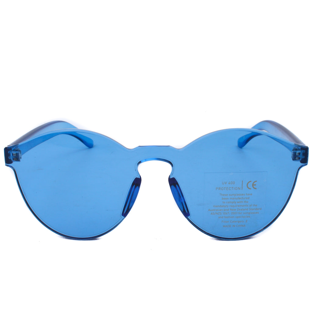 No Frame Sunglasses Crystal Coloured