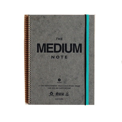 J Story Spiral Note Notebook Medium