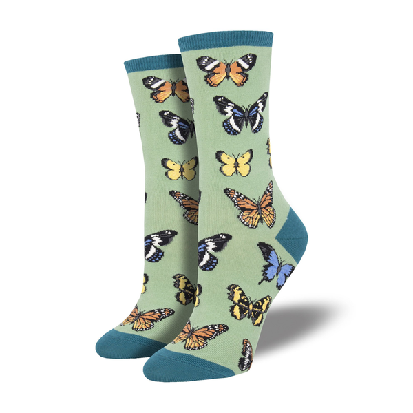 Socksmith Socks Womens Majestic Butterflies