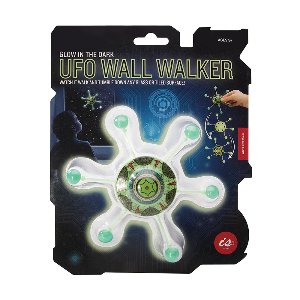 Glow in The Dark UFO Wall Walker