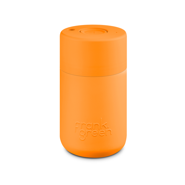 Frank Green Original Reusable Smart Cup 12oz Turmeric