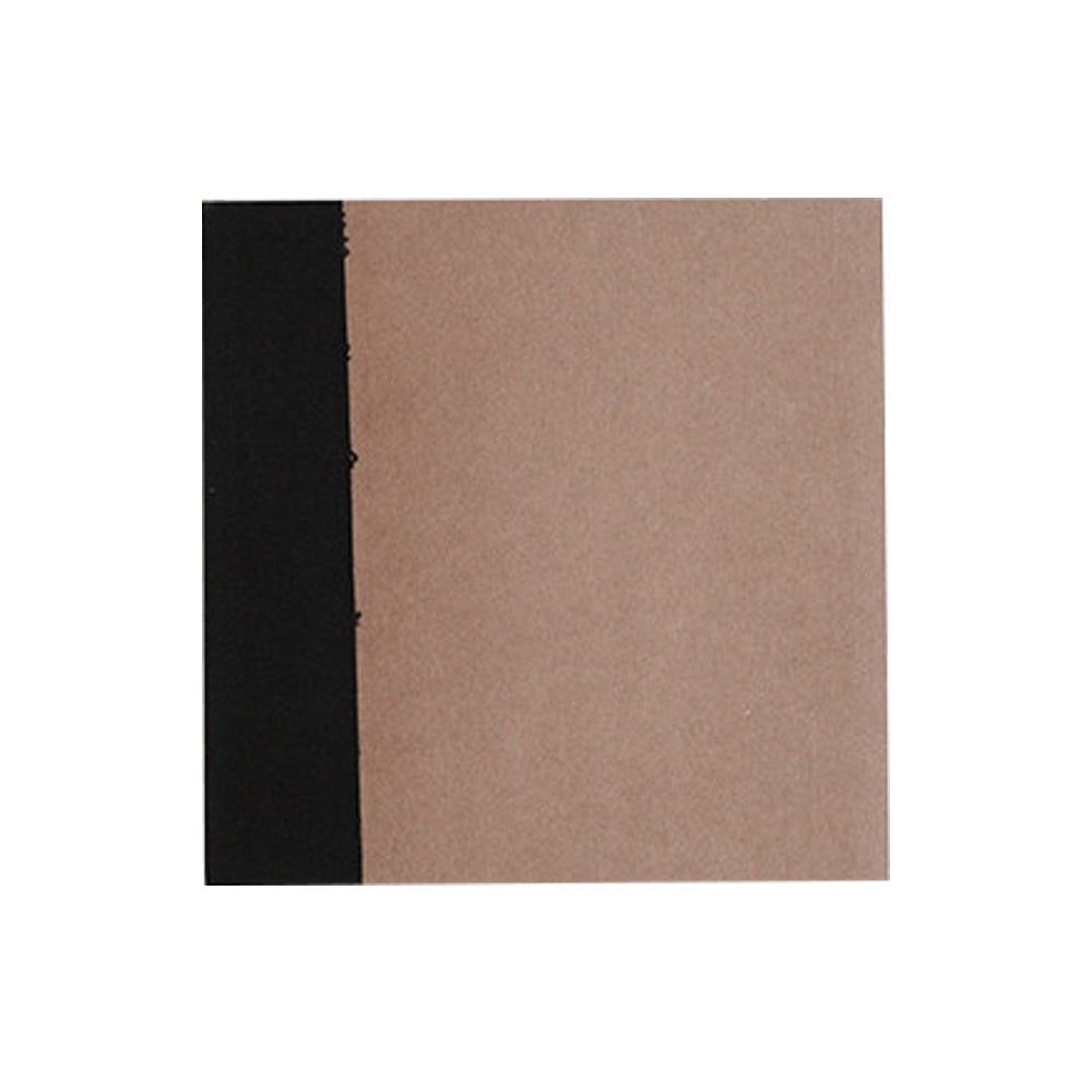 O-Check Design Graphics Utility Notebook Plain Medium Recycled Pages Brown