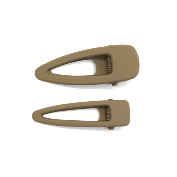 Fun Times Matt Harclips Set of 2 Olive Green