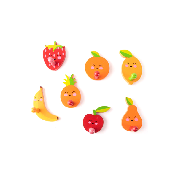 Happy Fruit Wall Hook