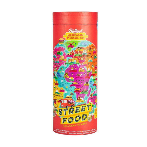 Ridley's Street Food World Jigsaw Puzzle 1000 Piece