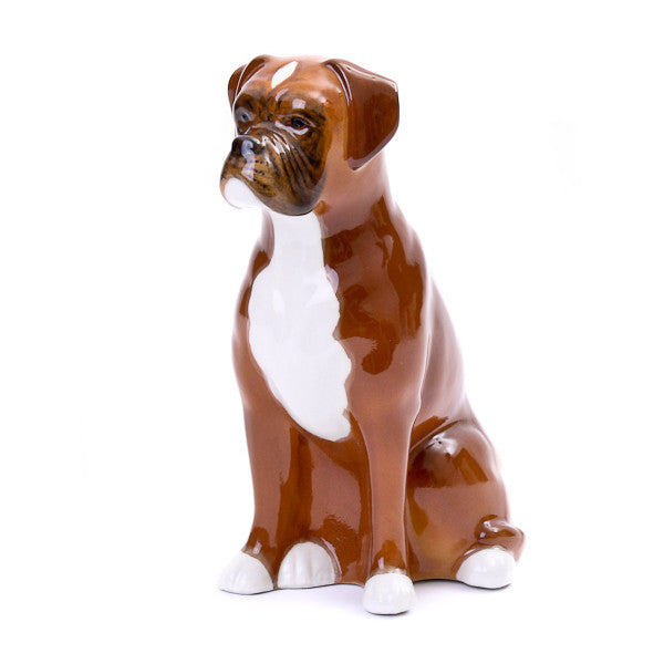 Quail Boxer Money Box