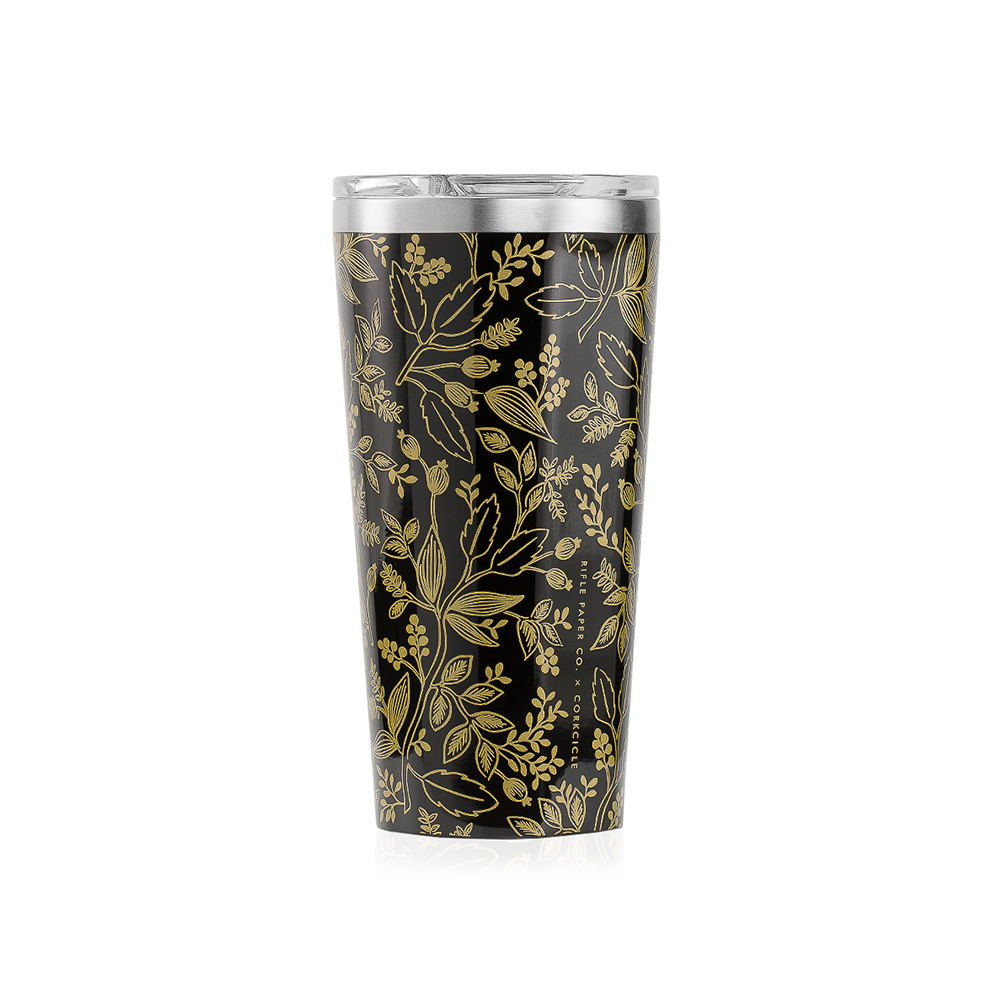 Corkcicle x Rifle Paper Co. Tumbler 16oz Queen Anne