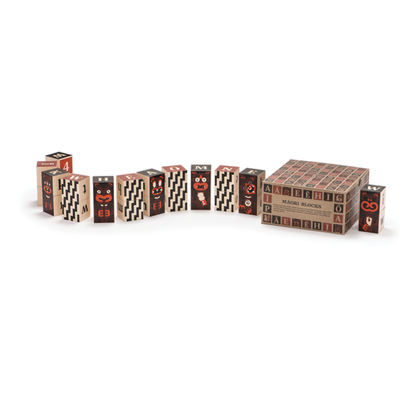 Uncle Goose Maori Alphabet Blocks