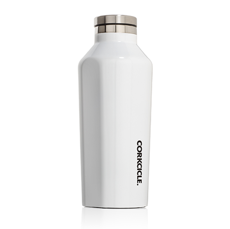 Corkcicle Canteen Drink Bottle 9oz White