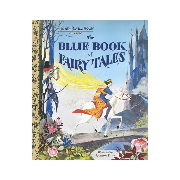 Little Golden Book The Blue Book of Fairy Tales