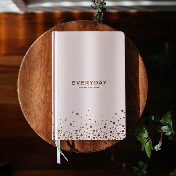Frank A5 Hard Cover Everyday Planner Blush