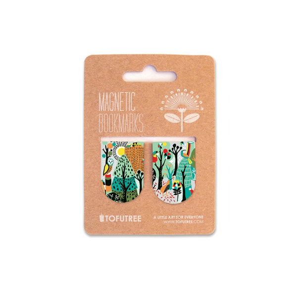 Tofutree Magnetic Bookmark Set Wonderland