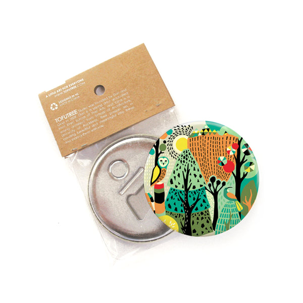 Tofutree Magnetic Bottle Opener Wonderland