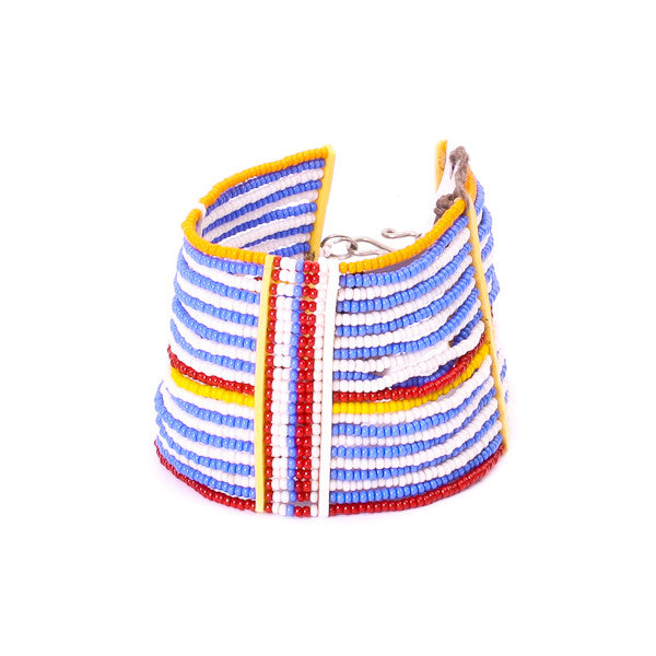Maka Emali Beaded Cuff