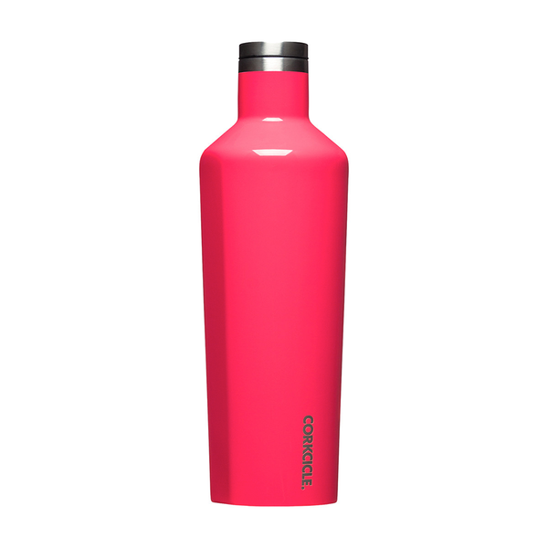 Corkcicle Canteen Drink Bottle 25oz 750ml Flamingo