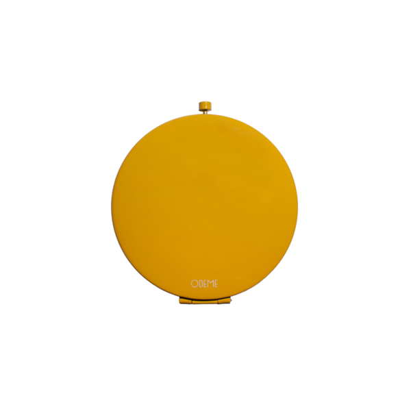 Odeme Compact Mirror Yellow
