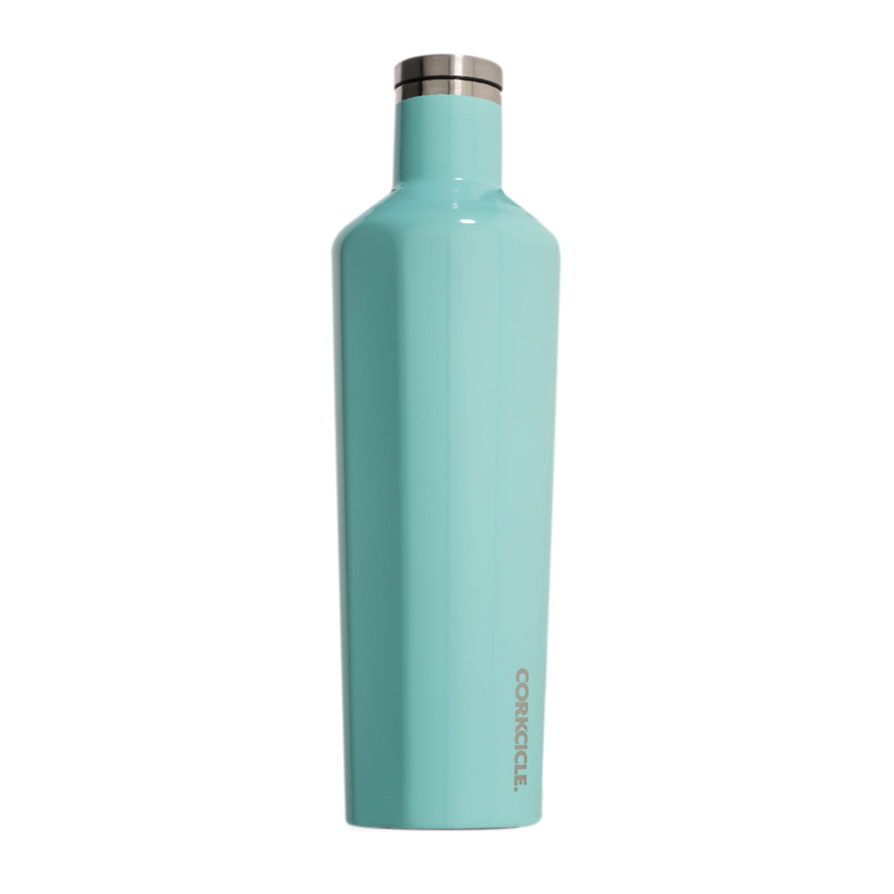 Corkcicle Canteen Drink Bottle 25oz 750 ml Turquoise