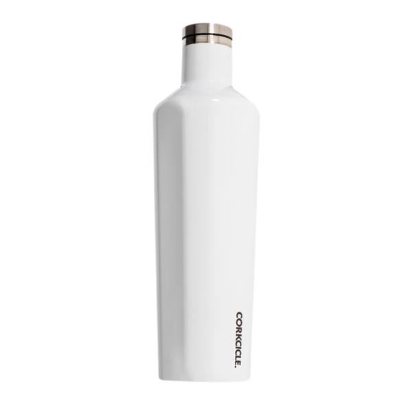 Corkcicle Canteen Drink Bottle 25oz White