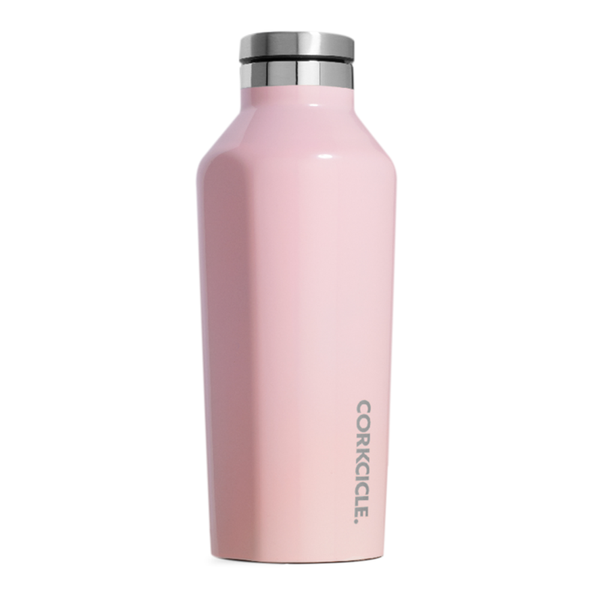Corkcicle Canteen Drink Bottle 9oz Rose Quartz
