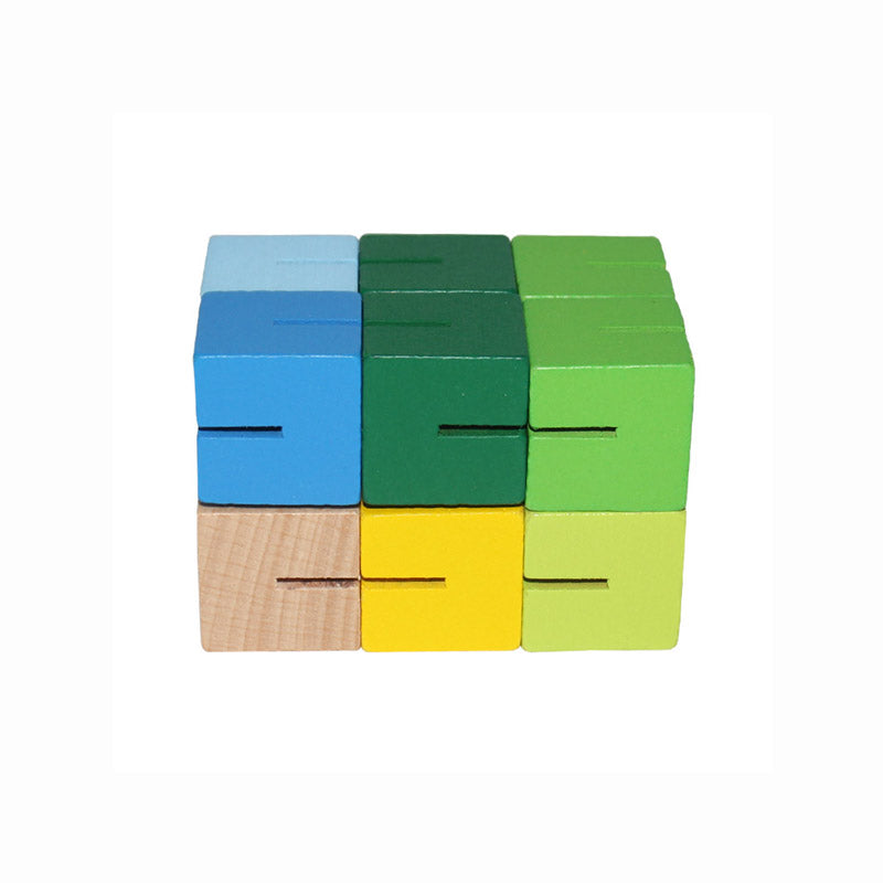 Wooden Jointed Cube