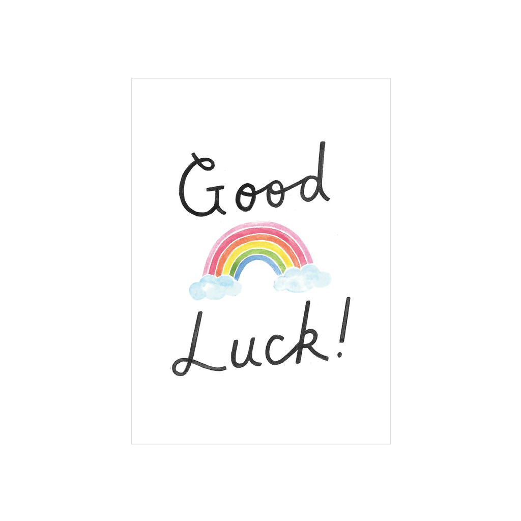 Steer Illustrations X Iko Iko Card Good Luck Rainbow