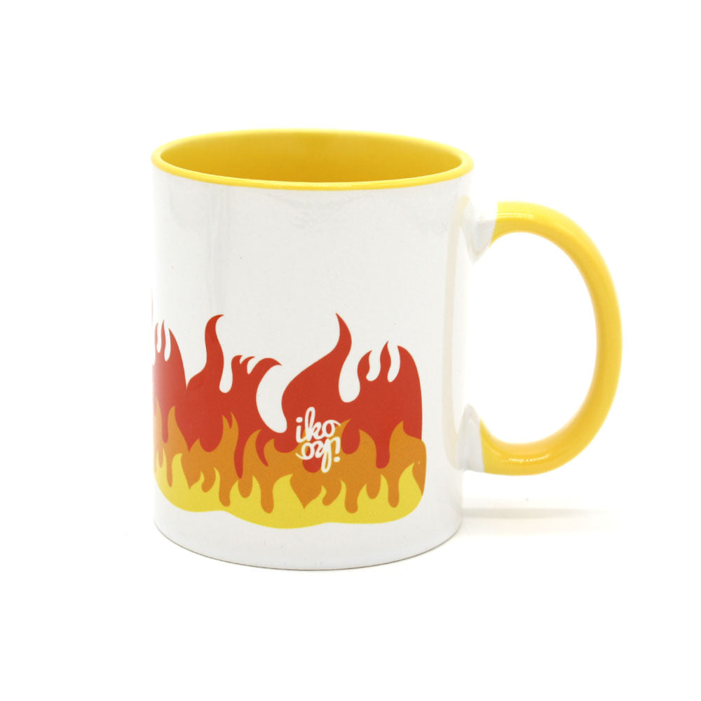 Iko Iko Pop Culture Mug Flames
