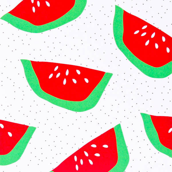 Iko Iko Colour Pop Card Watermelon