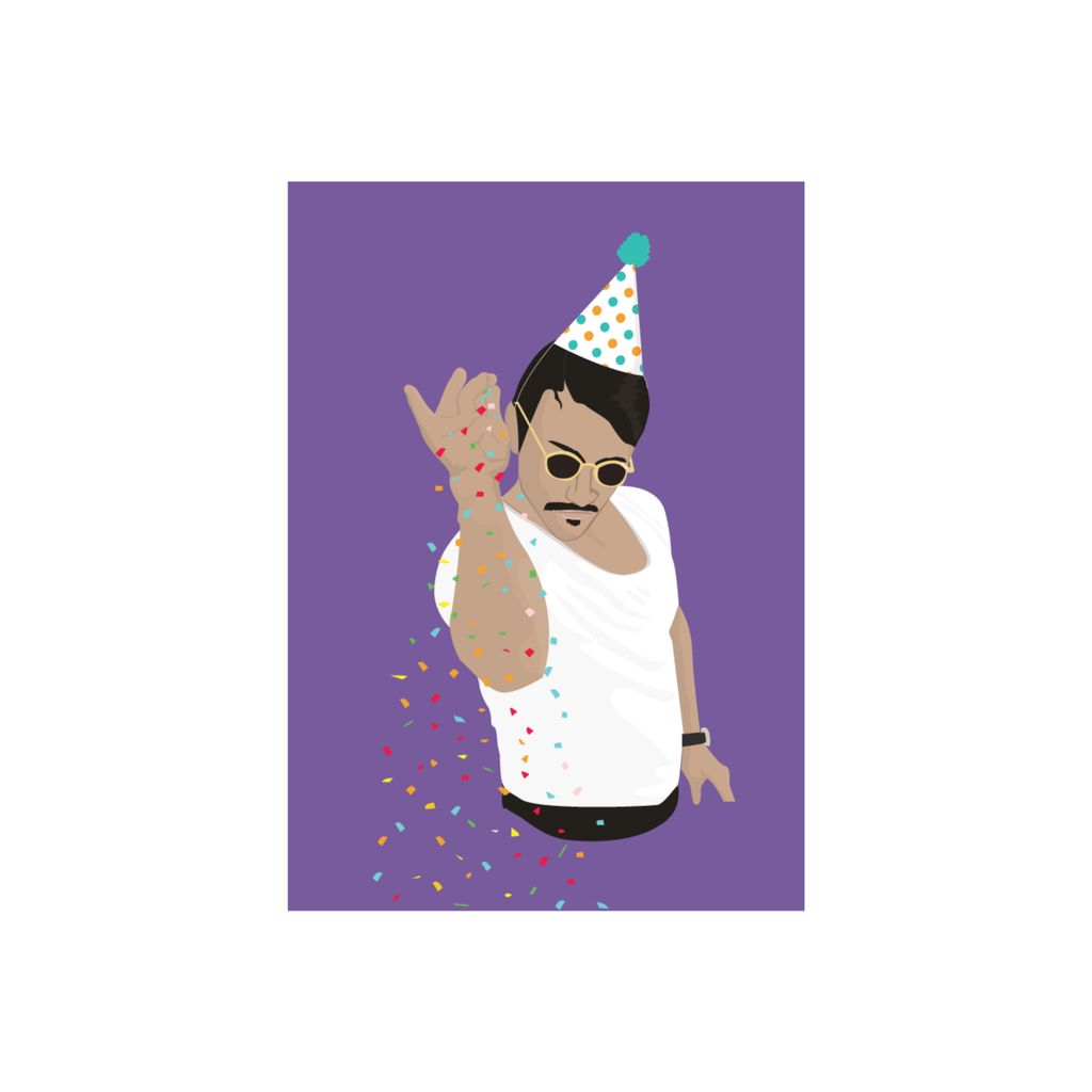 Iko Iko Pop Culture Card Salt Bae Birthday