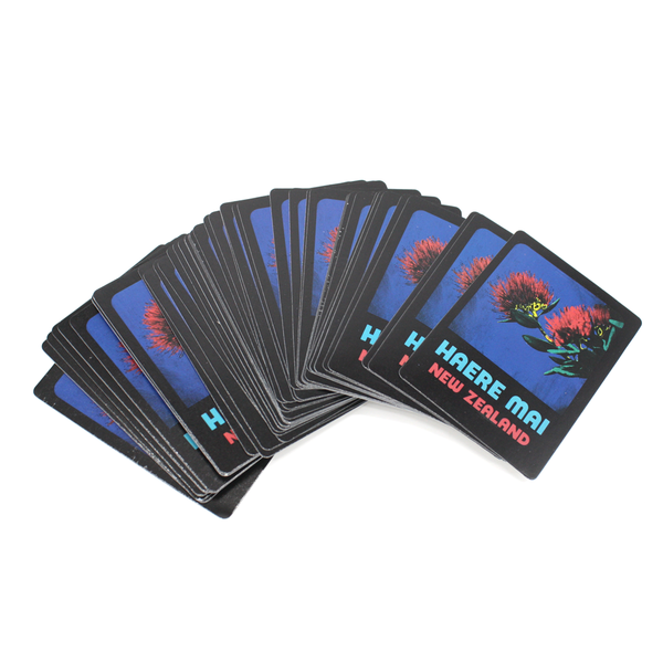 New Zealand Pop Art Playing Cards Haere Mai