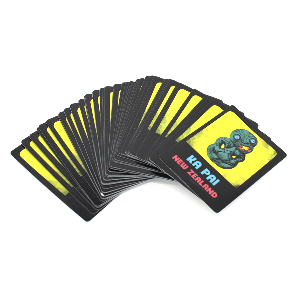 New Zealand Pop Art Playing Cards Ka Pai