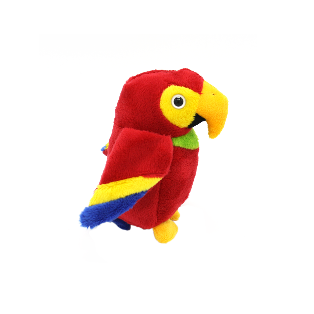 Cuddle Pals Red Macaw Parrot